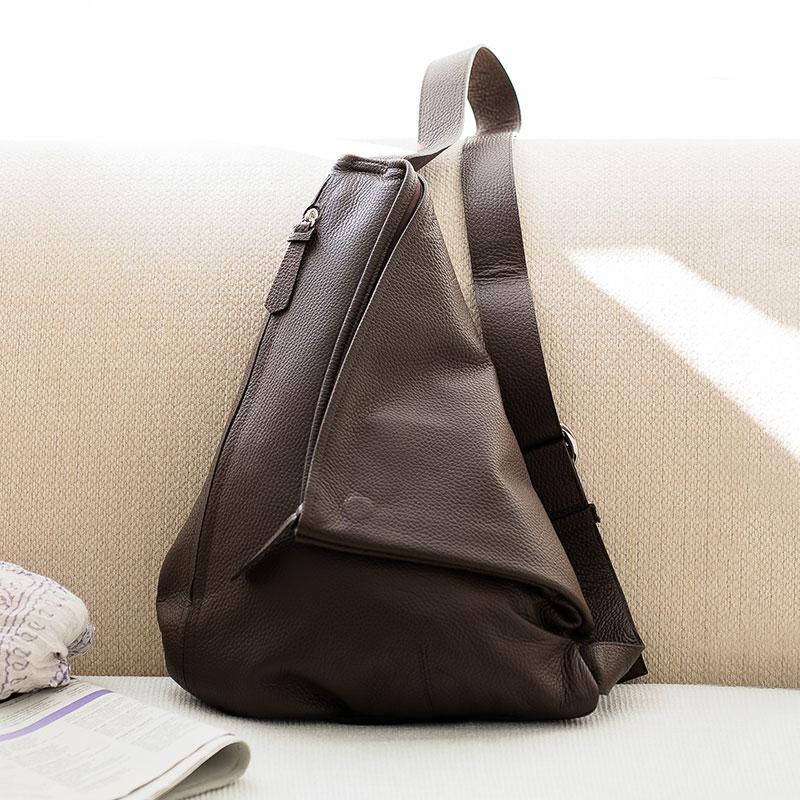 【ふるさと納税】ボディバッグ 豊岡鞄ottorossi ORA001(ブラウン) / カバン かばん