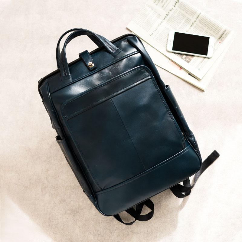 【ふるさと納税】ダレスリュック 豊岡鞄 FW01-101-50(ネイビー) / カバン かばん バック