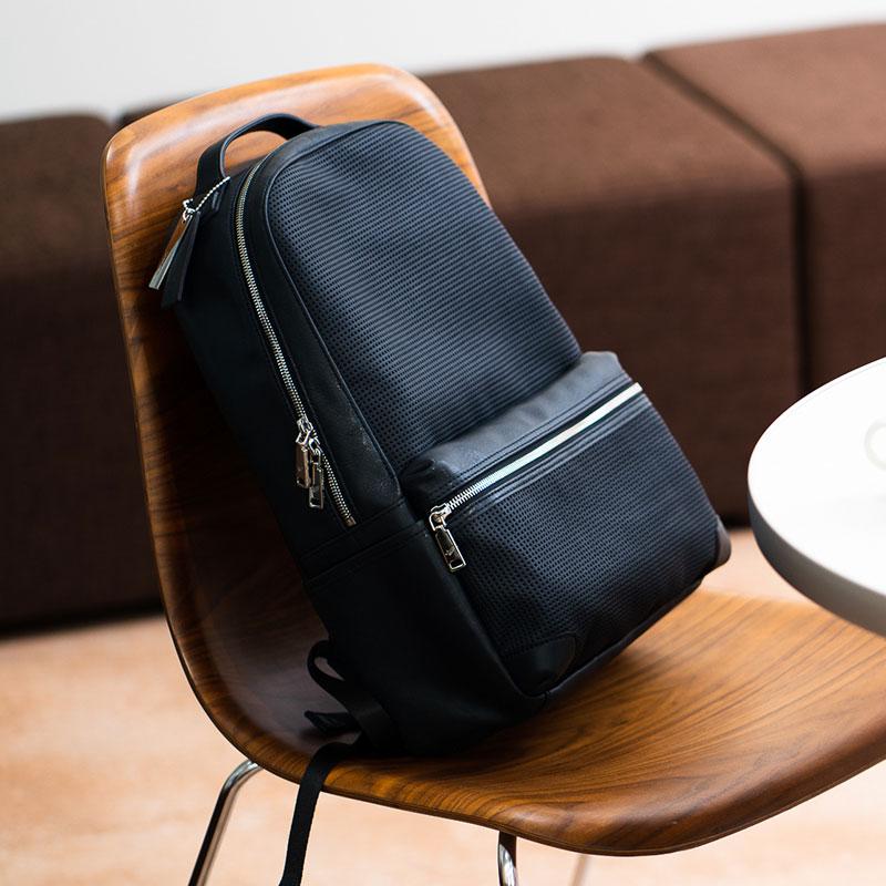 【ふるさと納税】リュックサック 豊岡鞄 TRV0702-50(ネイビー)/ カバン かばん リュック