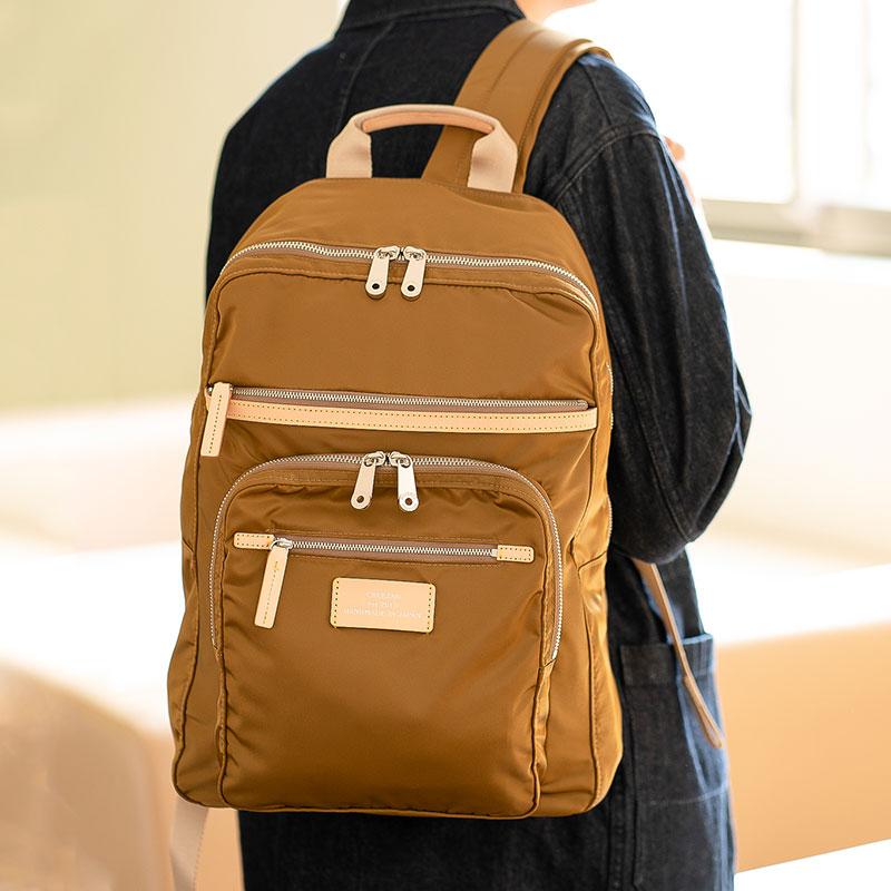【ふるさと納税】リュック 豊岡鞄 CDTC-004(オリーブ)/ カバン かばん