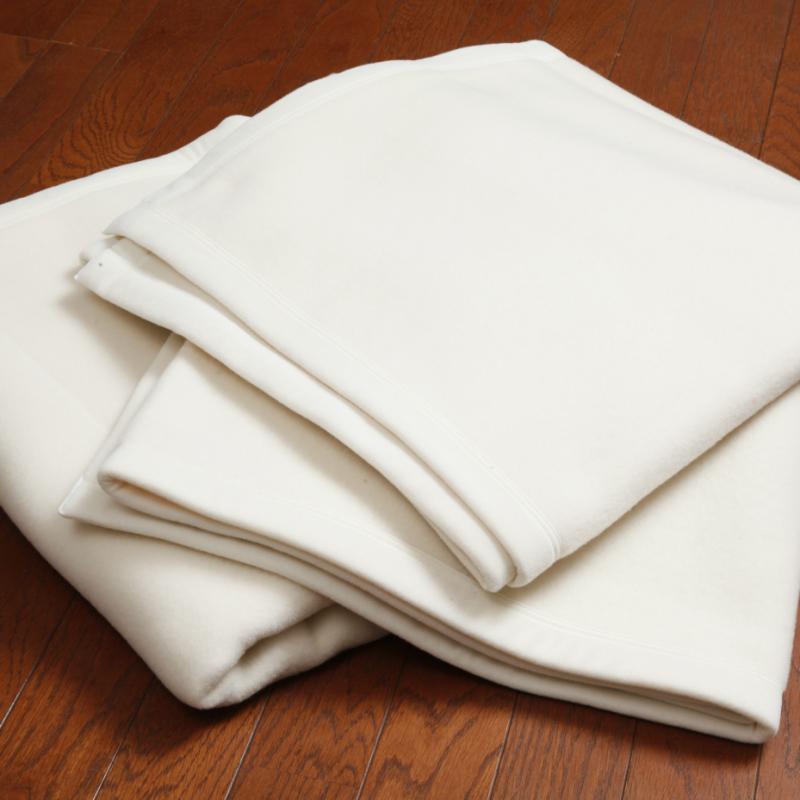【ふるさと納税】ホテル仕様ウール毛布