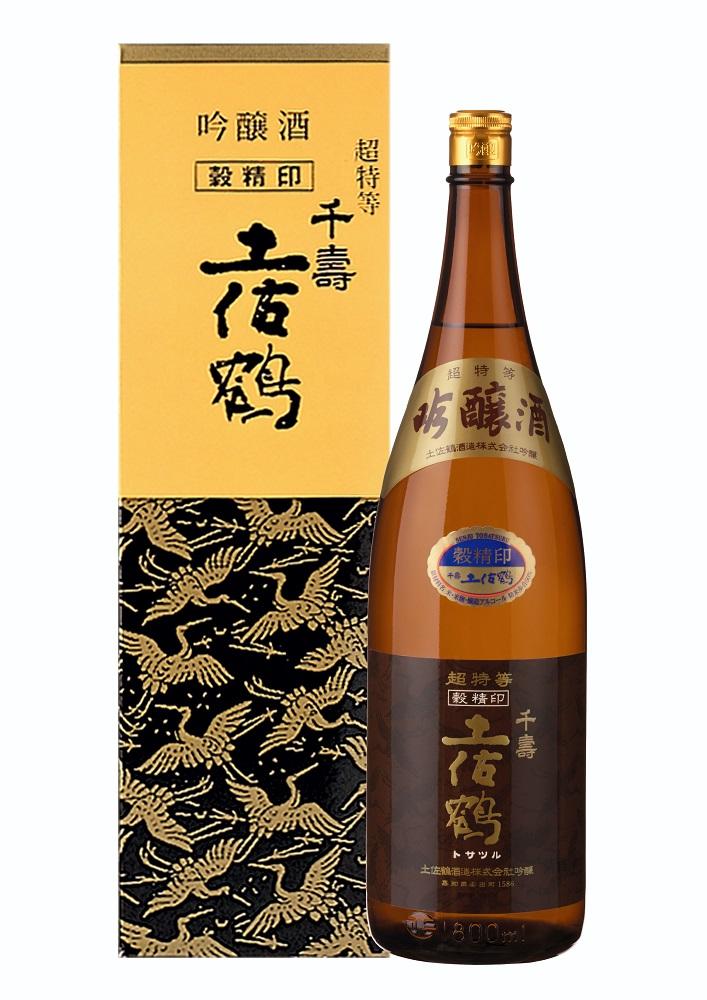 【ふるさと納税】西脇市産山田錦使用「土佐鶴吟醸酒 穀精」(1,800ml)
