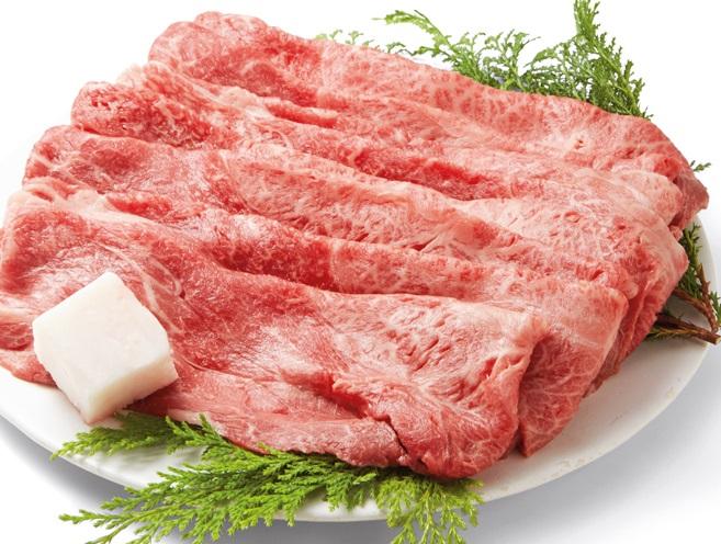【ふるさと納税】黒田庄和牛(すき焼き用モモ・ウデ肉・450g)