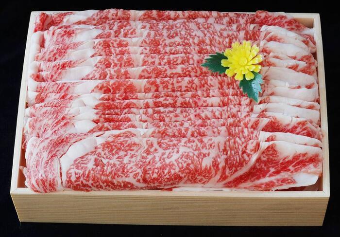 【ふるさと納税】黒田庄和牛【神戸ビーフ】しゃぶしゃぶ用ロース・1,250g