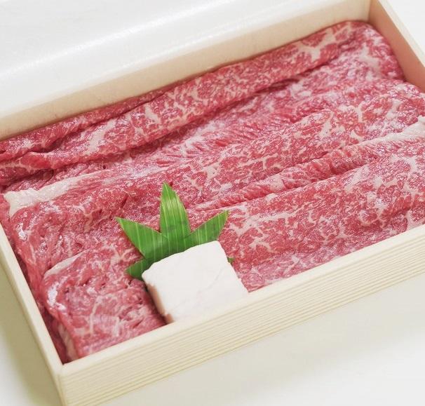 【ふるさと納税】 川岸牧場 神戸ビーフ 牝 モモ・バラ すきしゃぶ 350g