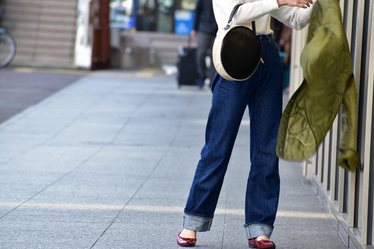 【ふるさと納税】鞄職人が手掛ける【ラウンドバッグ バイカラー】