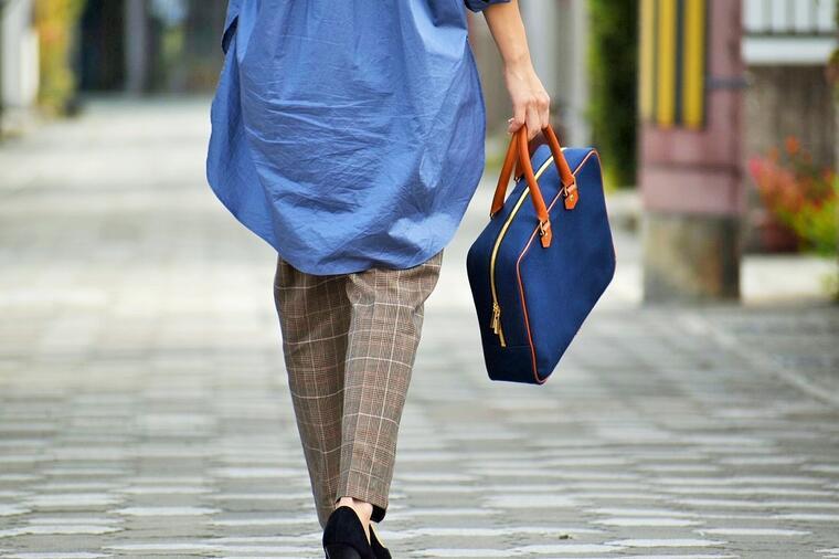 【ふるさと納税】鞄職人が手掛ける【ミニトラベルバッグ】ネイビー