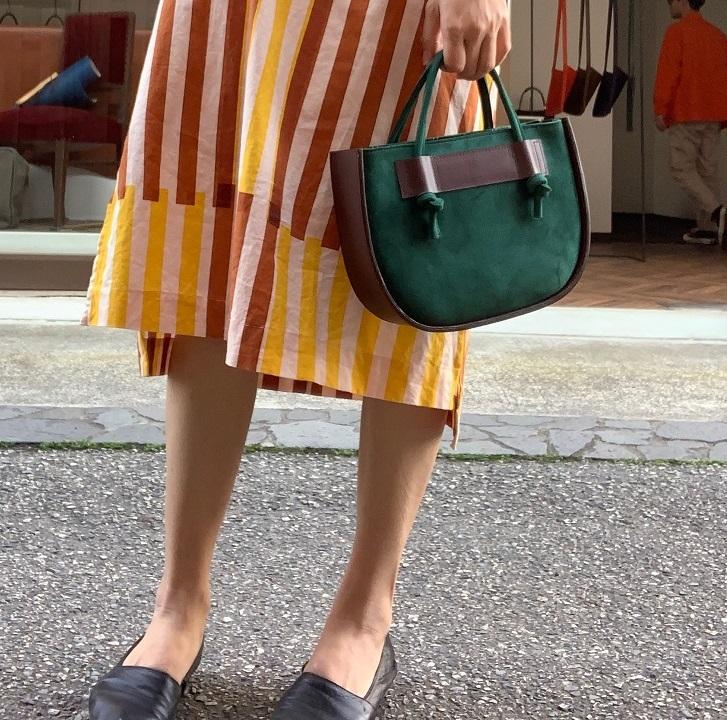 【ふるさと納税】鞄職人が手掛ける【ロロ】グリーン