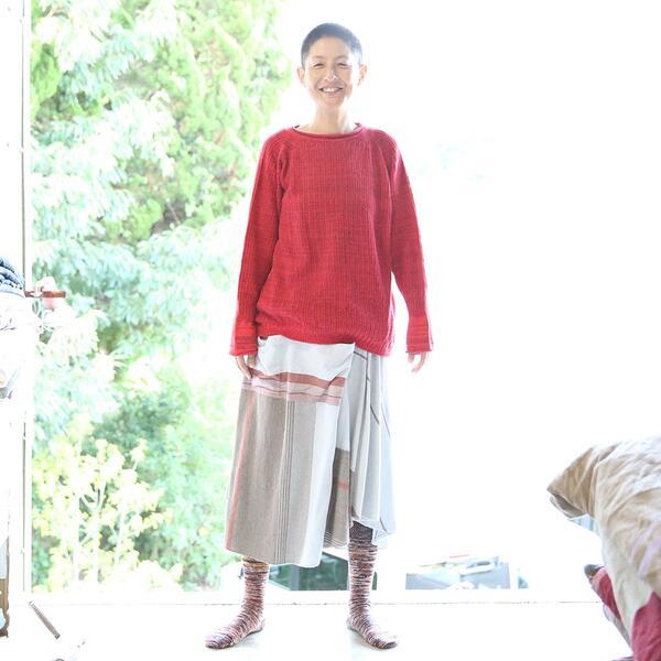 【ふるさと納税】【tamaki niime・イッテンモノ】PO knit グゥドゥ ~ついつい着てしまうニットとは?~