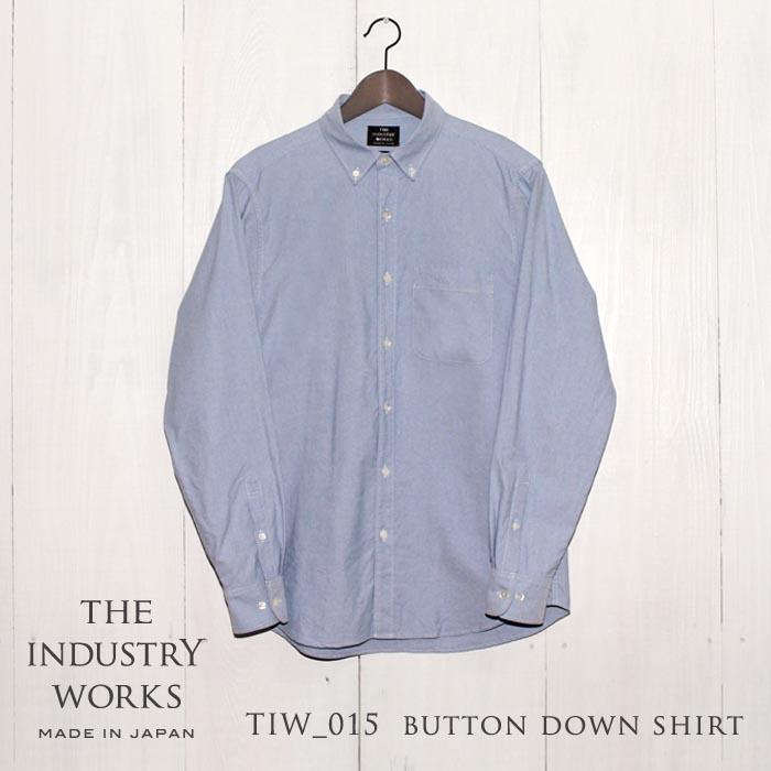 【ふるさと納税】播州織メンズシャツ「THE INDUSTRY WORKS」(ライトブルー)