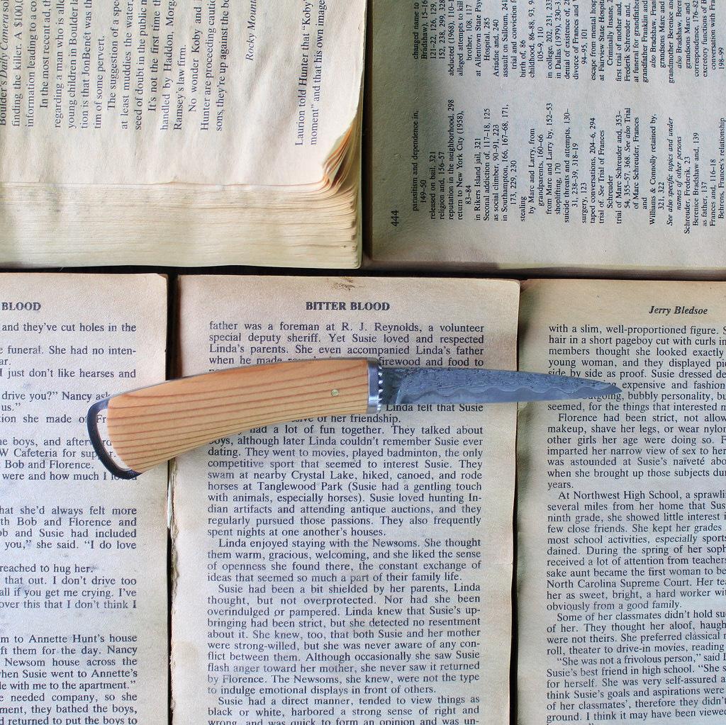 【ふるさと納税】FEDECA ペーパーナイフ トラディショナル 吉野杉【ナイフ】