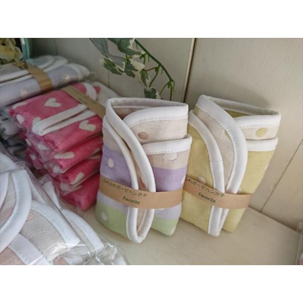 【ふるさと納税】ハンドメイドの6重織りガーゼのハンカチ6枚セット