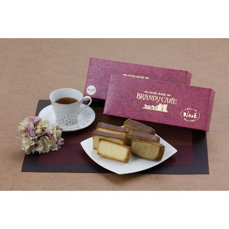 【ふるさと納税】神戸ブランデー香る大人のケーキ!!【ブランデーケーキ】