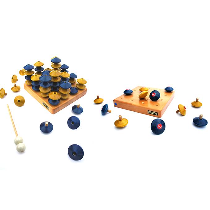 【ふるさと納税】立体脳トレゲーム2点セット 【おもちゃ・知育玩具・そろばん】