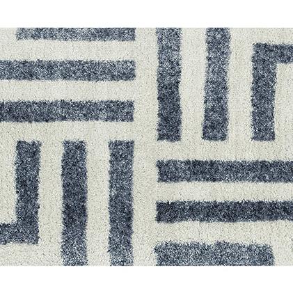【ふるさと納税】洗えるインテリアマット M+home ハドソン 60×110cm 【雑貨・日用品・インテリア】