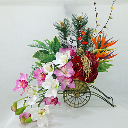 【ふるさと納税】祝!令和 御所車の雅 【インテリア・植物】