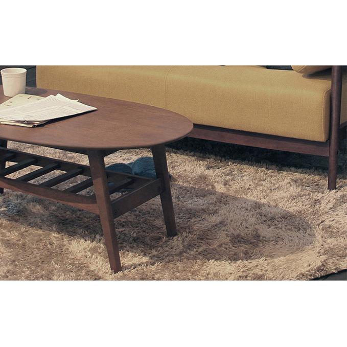 【ふるさと納税】emo.Living Table 【リビングテーブル/家具・机・インテリア】