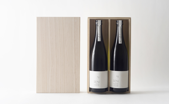 【ふるさと納税】SEN純米大吟醸 2本セット 【お酒・日本酒・純米大吟醸酒】