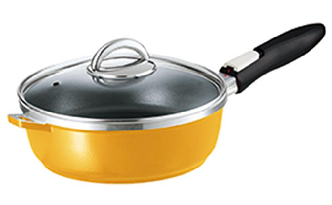 【ふるさと納税】オールパンゼロクリア24(マンゴー) 【キッチン用品・フライパン・ふらいぱん・鍋・なべ・ナベ・調理器具】