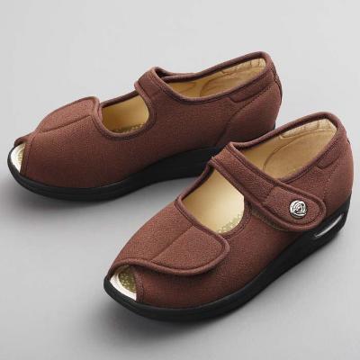【ふるさと納税】彩彩ちりめん W1103:ブラウン 【ファッション・靴・シューズ】