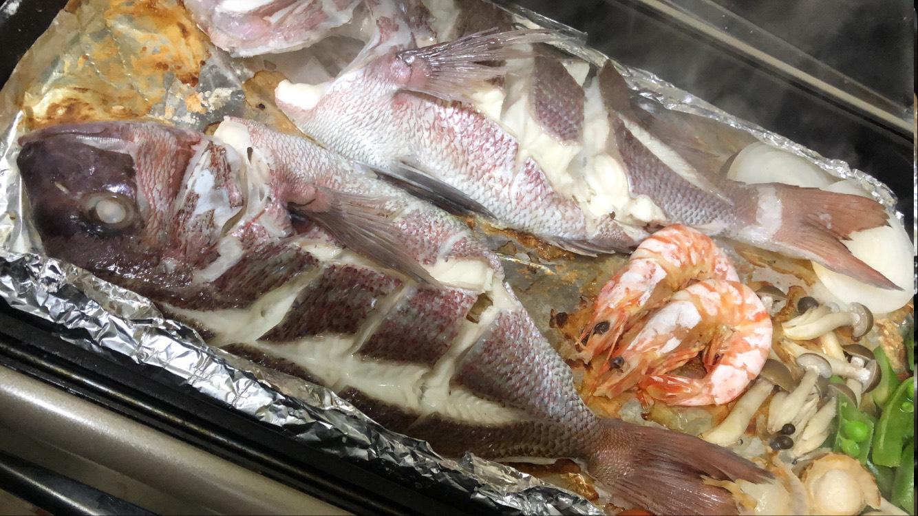 淡路島ちりめん山椒と鯛の宝楽焼セット