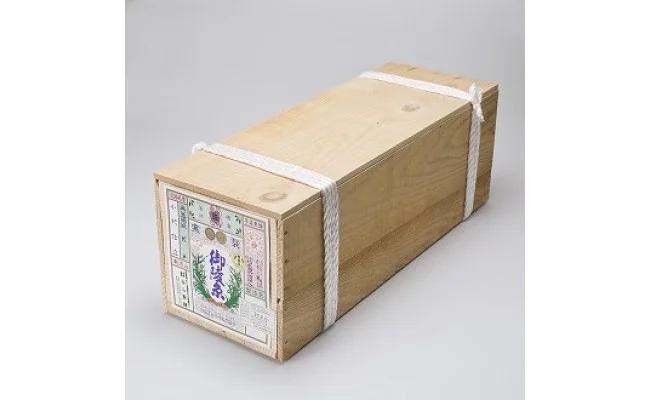 【ふるさと納税】淡路島手延べ素麺 御陵糸 黒帯(18kg木箱)