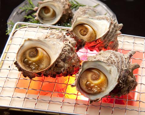 【ふるさと納税】淡路島産サザエ1kgと最高級バターセット ※オーブンで焼くだけ