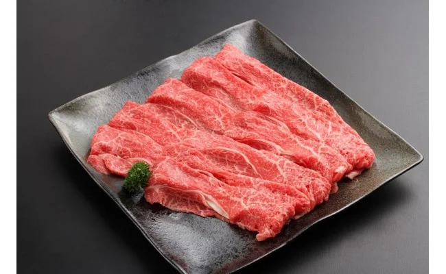 【ふるさと納税】淡路牛(交雑牛) すき焼き用 上赤身 500g