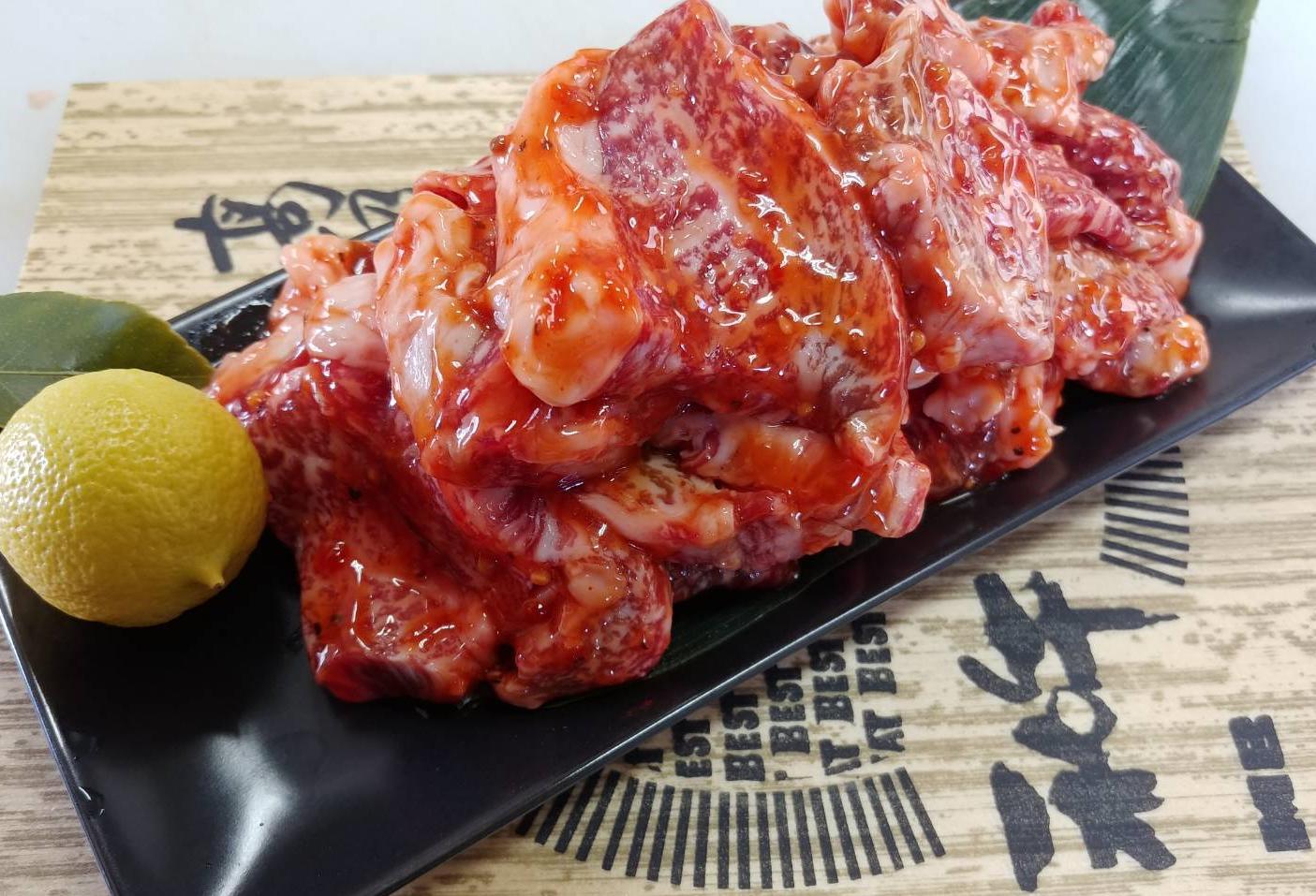 【ふるさと納税】牧場直売「淡路姫和牛」たれ漬(モモ、バラ、ハラミ) 1kg(500g×2パック)