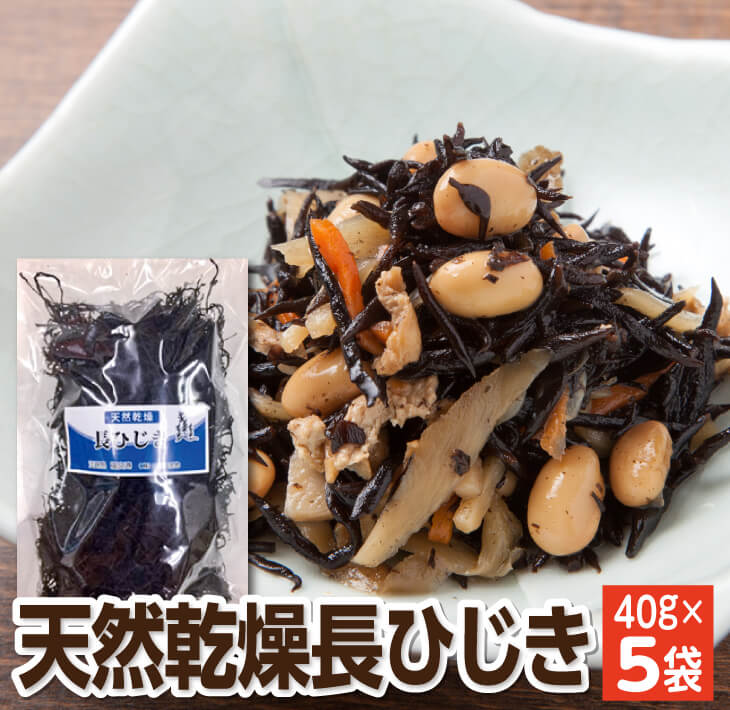 【ふるさと納税】長ひじき 40g×5袋