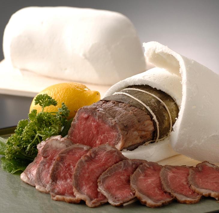 【ふるさと納税】国産黒毛和牛塩釜焼