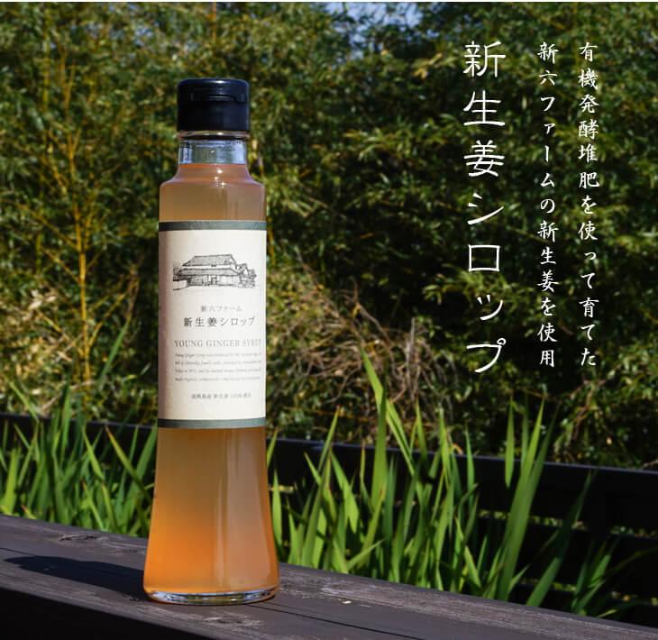 【ふるさと納税】新生姜シロップ 220ml×2本