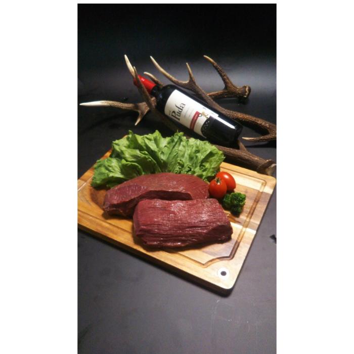 【ふるさと納税】AQ1 宍粟のシカ肉もも600g