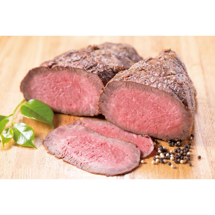 【ふるさと納税】J16 炭火焼ローストビーフ(もも肉)300g