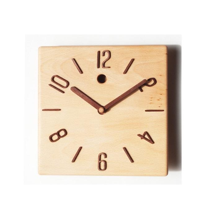 【ふるさと納税】30-P8 掛け時計 ブナ