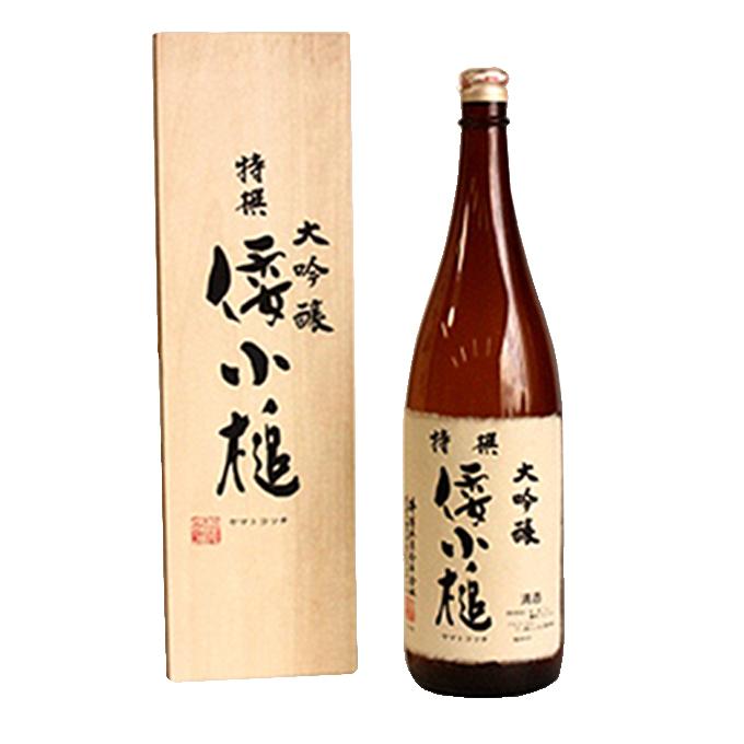 【ふるさと納税】大吟醸特撰倭小槌 1.8L 1本 【お酒・日本酒・大吟醸酒】