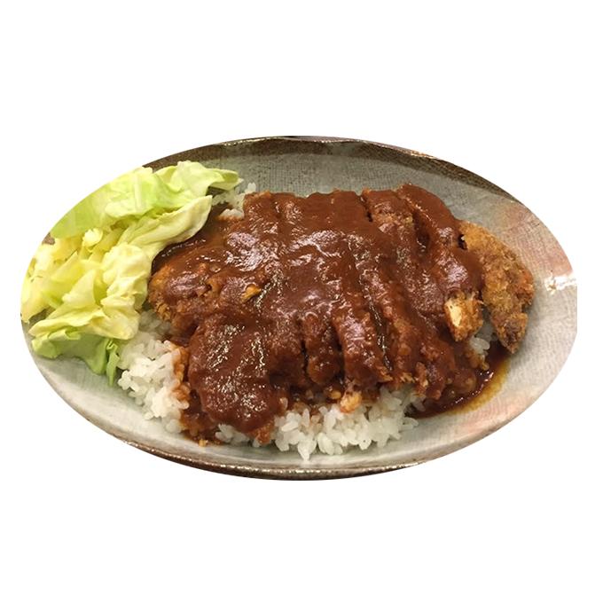 【ふるさと納税】志方牛かつめし 4食セット(かつめしのタレ付) 【肉・加工品・牛肉・ビフカツ】