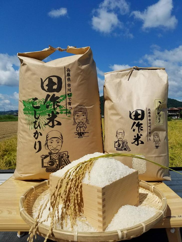 【ふるさと納税】030ID0229.平成29年産 田作米 コシヒカリ【玄米30kg】