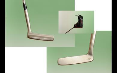 【ふるさと納税】MS-01 三坂ゴルフ 軟鉄製造L型パター
