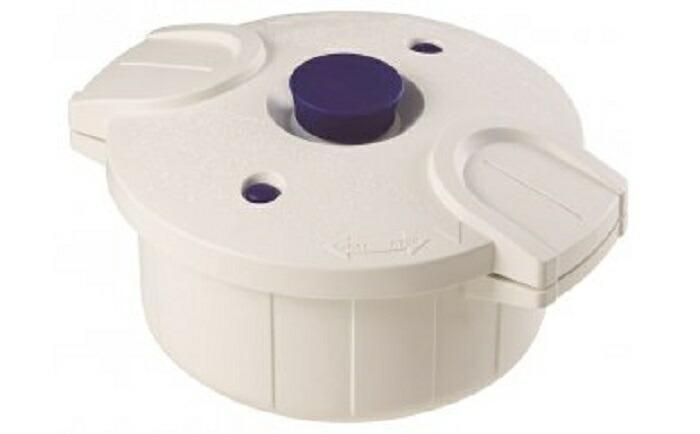 【ふるさと納税】H-24 スケーター 電子レンジ圧力鍋「極み味」(ホワイト)