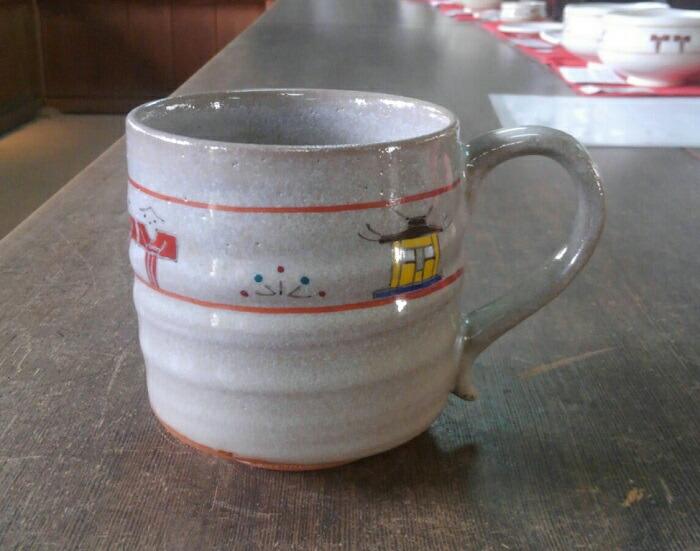 【ふるさと納税】U-07 奈良絵マグカップ