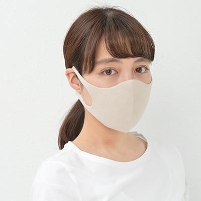 新しい生活様式 人にも地球にも優しいマスク 敏感肌 繊細肌専用 高級シルク無縫製3D立体Agマスク ふるさと納税 シルクマスク立体 激安通販販売 国内正規総代理店アイテム ベージュ 3枚 4330-7517-03 L 3DAg 1133363