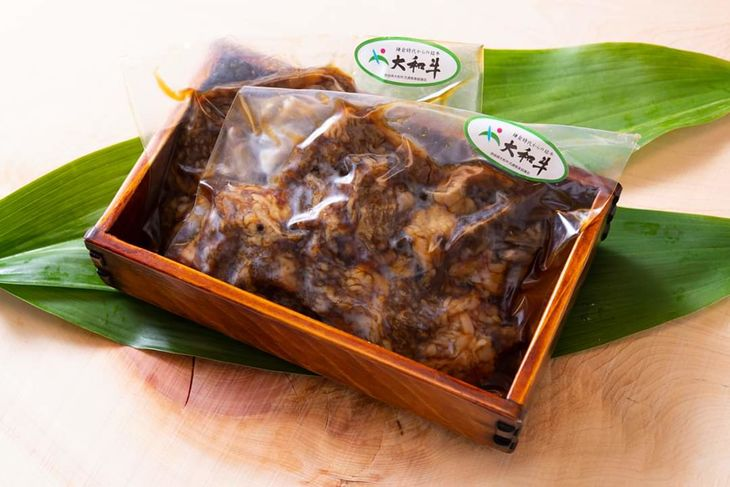 【ふるさと納税】大和牛のしぐれ煮(100g×2つ) ご飯のお供にぴったり!(冷蔵でのお届けとなりますが、冷凍での発送も可能です)