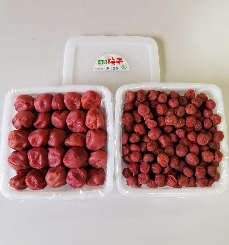 ふるさと納税 有機栽培 小梅しそ漬け梅干1kg モデル着用&注目アイテム 南高しそ漬け梅干1kg 超激安