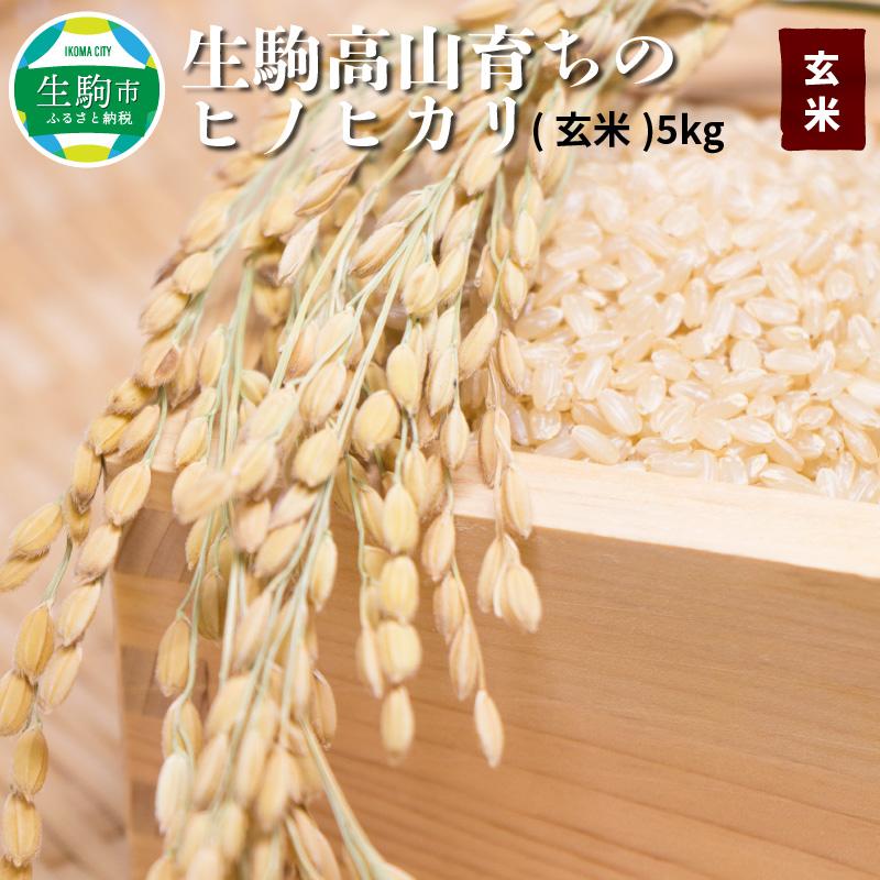 生駒の美味しい自然水で育った玄米 玄米だけでももちろん 白米と混ぜてもおいしく炊きあがります 玄米の香りと食感をお楽しみください 栄養も豊富で健康づくりにもお役立でください ヒノヒカリ玄米5kg 生産者 生駒高山育ちの ふるさと納税 上武猛 好評 タイムセール