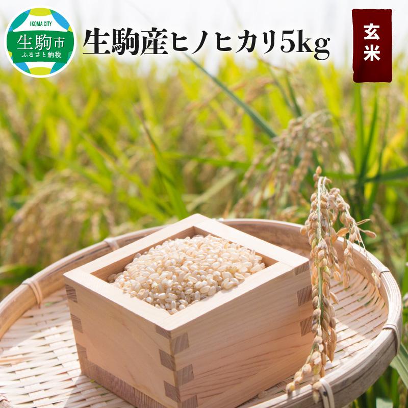 一部予約 生駒のキレイな地下水と有機肥料を使い 新商品 安心安全にこだわったお米です ふるさと納税 5kg 中本ファーム 生駒産ヒノヒカリ玄米