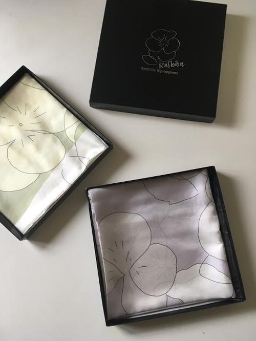 【ふるさと納税】【香芝Sumire】絹100%日本製大判スカーフ 90x90cm