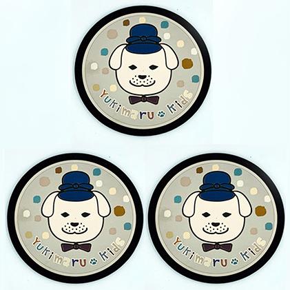 【ふるさと納税】雪丸キッズ チタン製MLコースター3枚組 【雑貨・日用品】