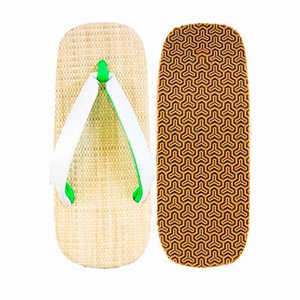 【ふるさと納税】紳士雪駄 信貴毘沙門亀甲底(白) 25~27cm 【ファッション・靴・シューズ】
