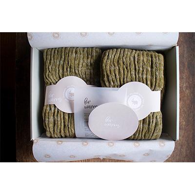 モコモコレッグウォーマーで 期間限定の激安セール かわいくて暖かい足元を 特別セール品 ふるさと納税 ELEPHANT ~グリーン~ warm for CLUB